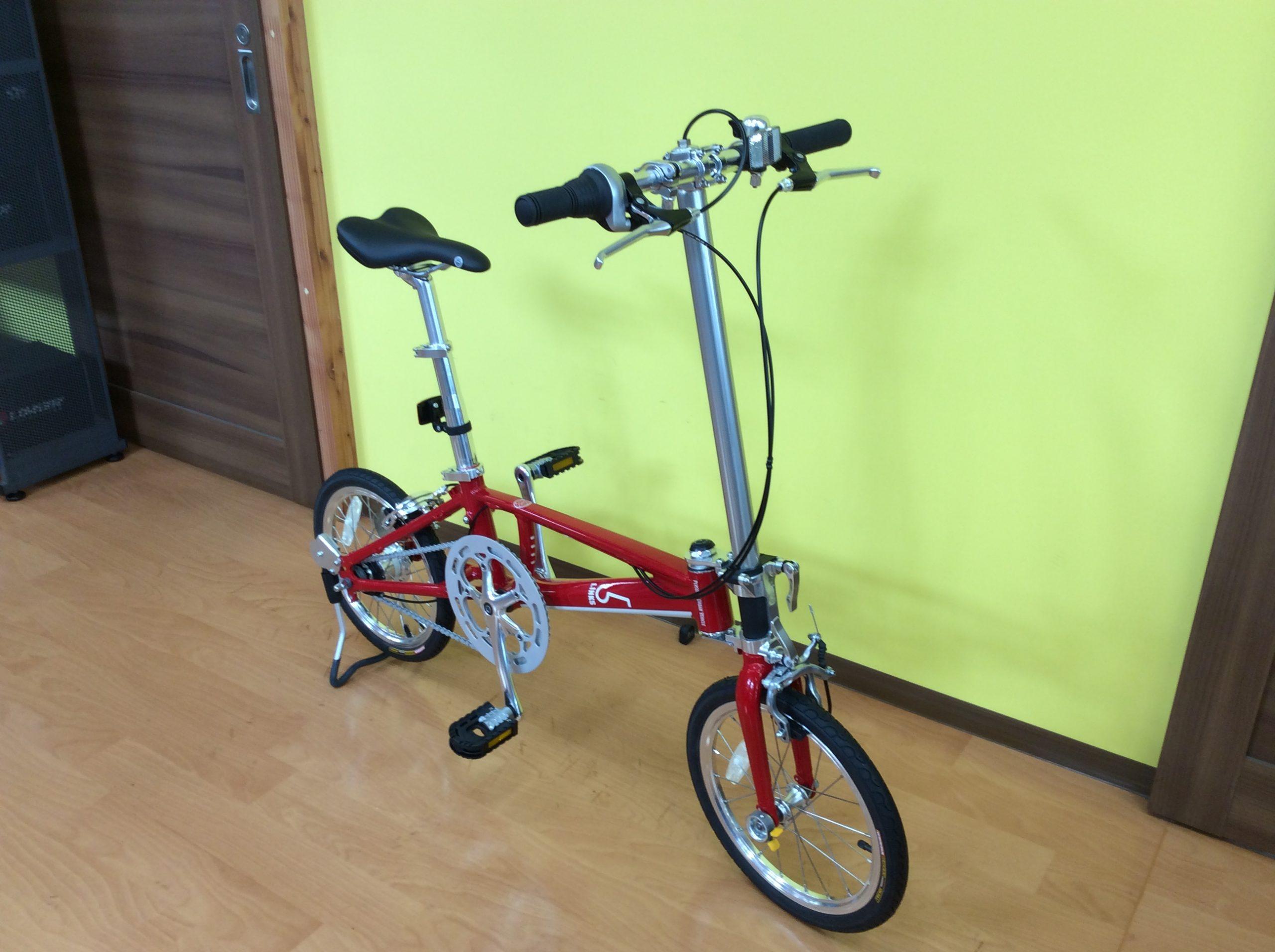 ★お取り寄せをご紹介★折りたたみ自転車