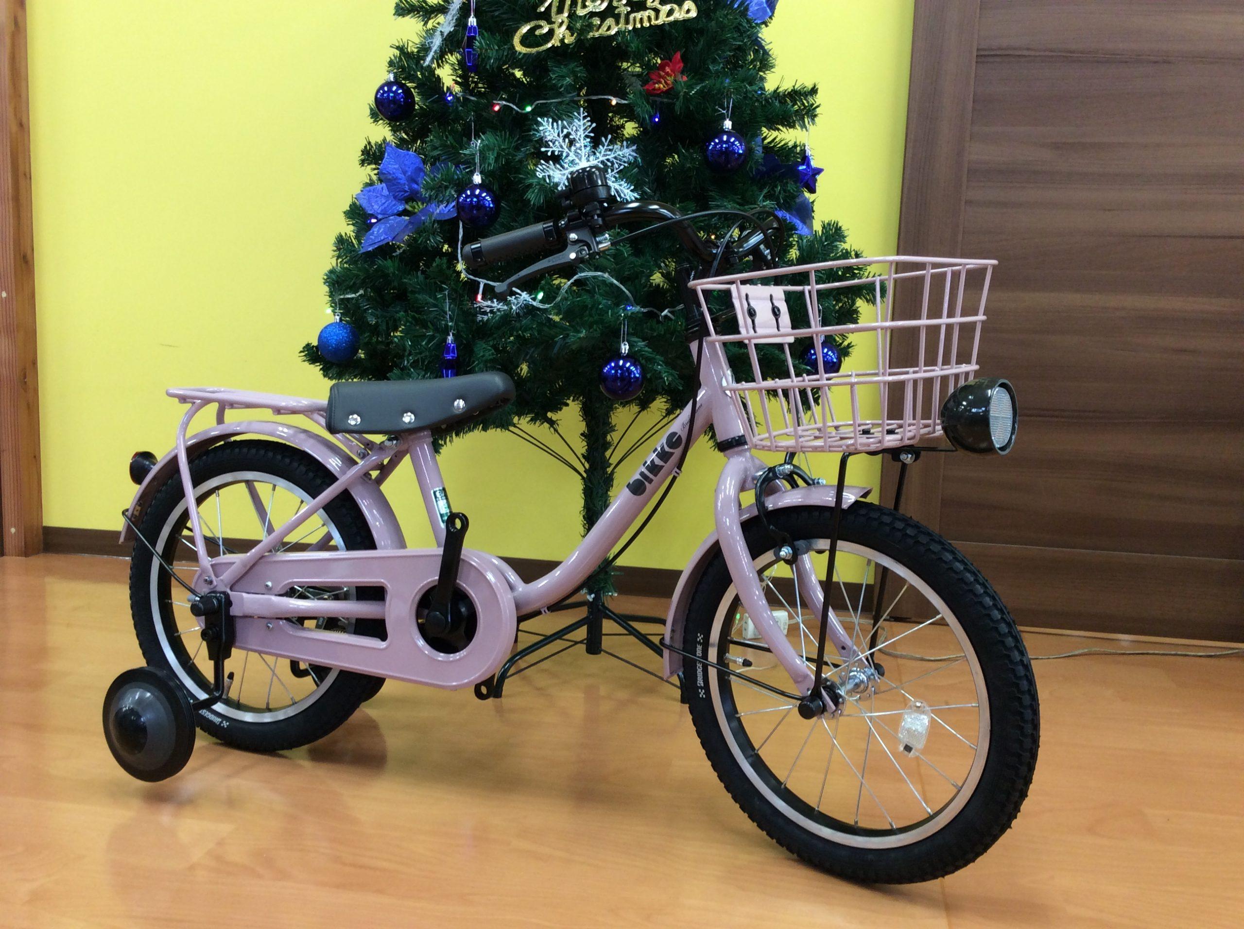 【入荷情報】ブリヂストン 幼児用自転車